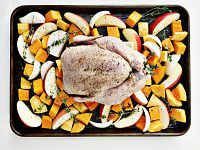 Apple & Butternut Squash Roasted Chicken