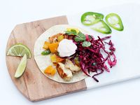 Fish Tacos with Apple Slaw
